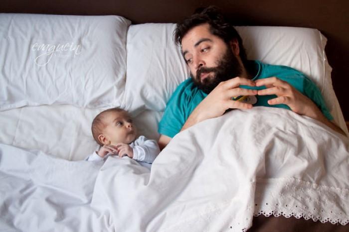 طفل يشبه والده