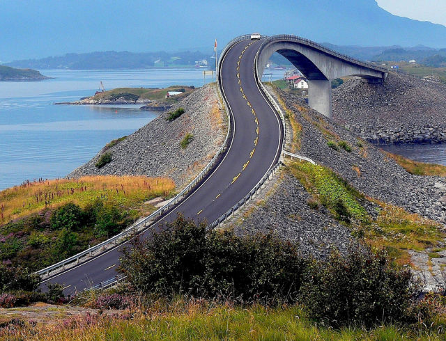 طريق المحيط الأطلسي، النرويج