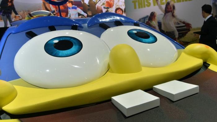 2015 toyota sienna spongebob