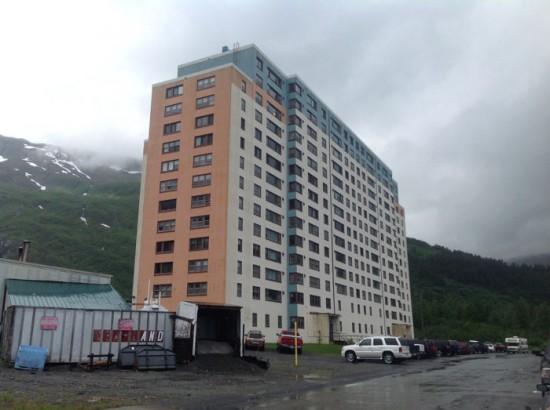 قرية تعيش في بناية واحدة، ألاسكا