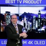 إل جي إلكترونيكس تفوز بـ 41 جائزة في معرض الإلكترونيات الاستهلاكية 2015