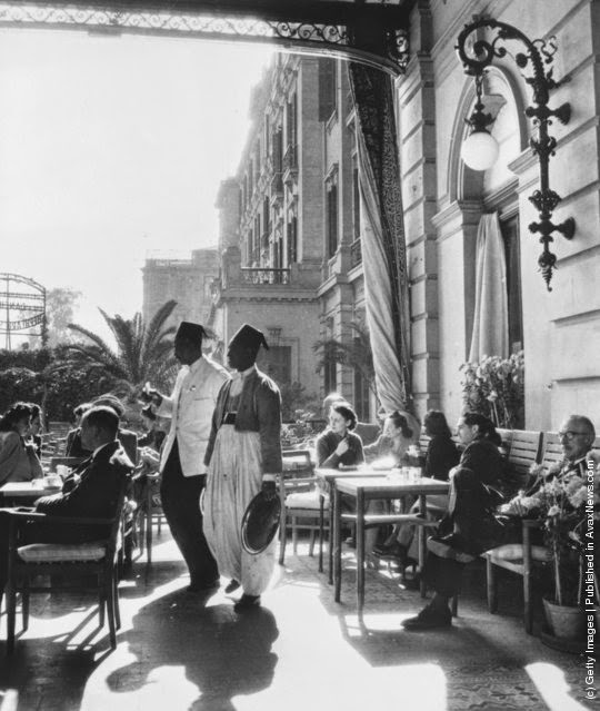 Life in Cairo in the past