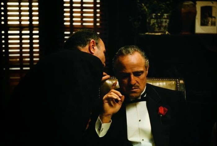 The Godfather behind the scenes