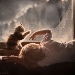 animal children photography elena shumilova