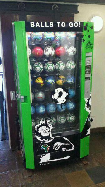 آلة بيع كرة القدم