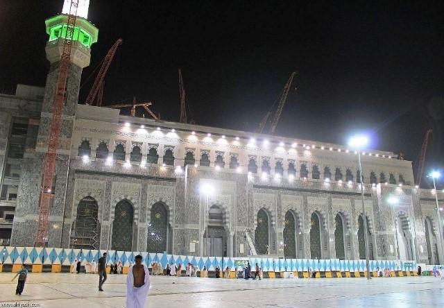 توسعة المسجد الحرام