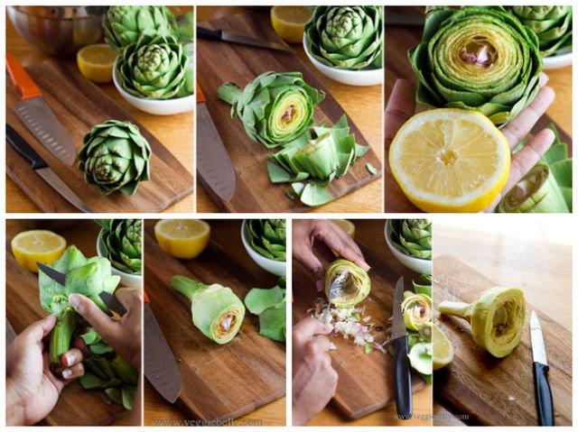 تقطيع الفواكه والخضروات