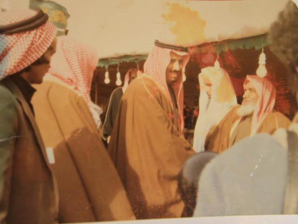 صور الملك سلمان قديما
