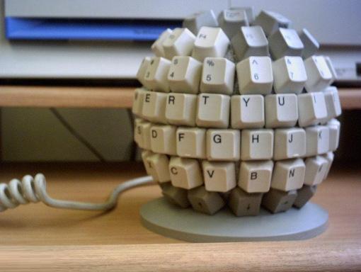 لوحة المفاتيح الكروية