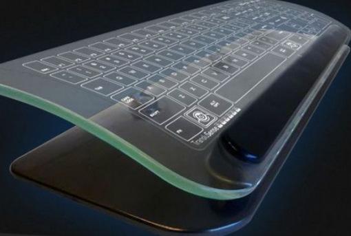 لوحة مفاتيح زجاجية