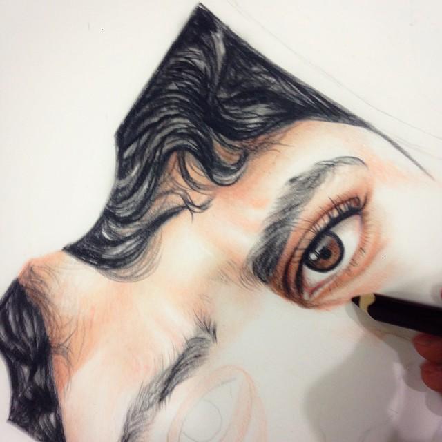 صور الفن والرسم على انستقرام