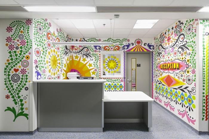 غرف مستشفيات فنية