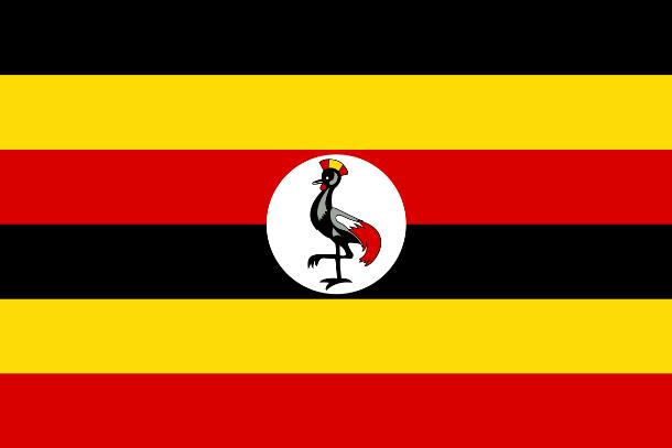 علم أوغندا ، لعلم الوطني هو واحد من أهم وأبرز رموز الاحترام في البلد. عادة ما تشير أعلام الدول إلى التاريخ والثقافة. في حين أن معظم أعلام الدول الوظنية تحتوي على أشكال هندسية، وألوان ورموز مشتركة، إلا أنه هناك بعض الأعالم التي حملت أشياء غريبة