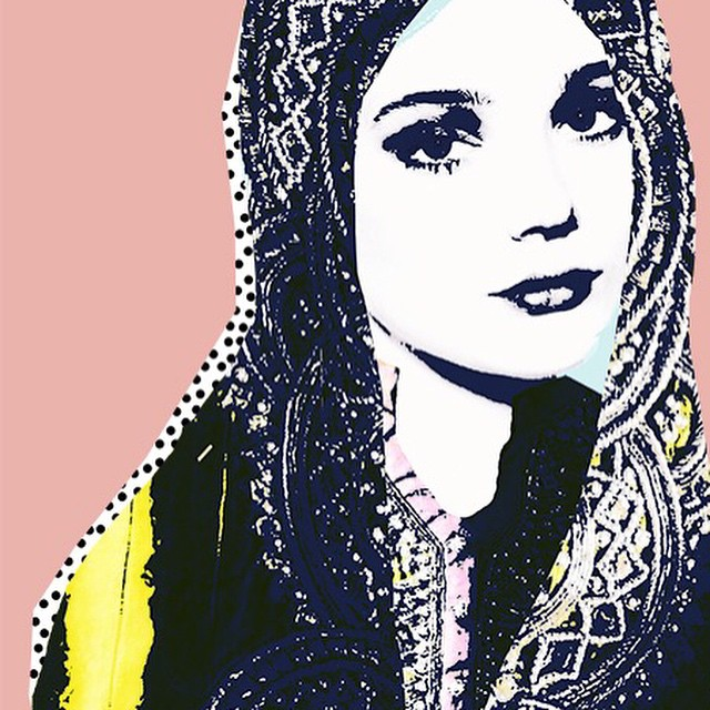 تصميمات فنية من فنانة سعودية