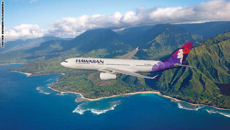 هاوايان أيرلاينز... الأفضل بين اثنان من شركات الطيران الأمريكية
