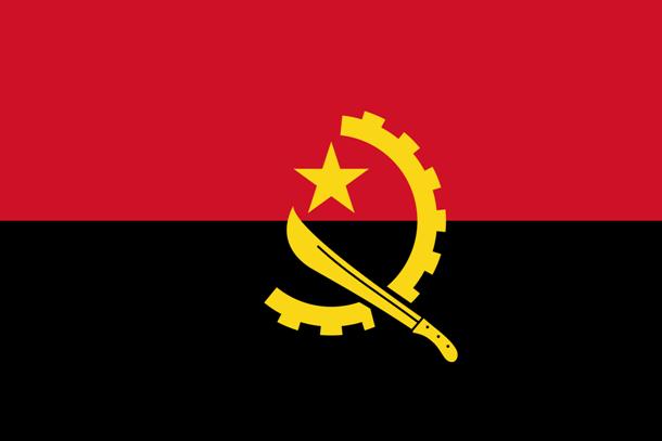علم أنغولا