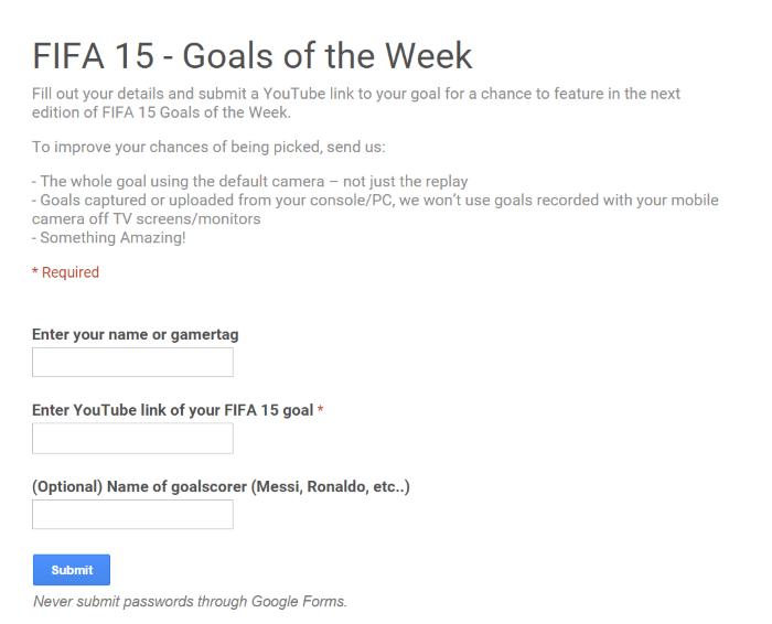 أجمل أهداف فيفا 15 لهذا الأسبوع fifa 2015