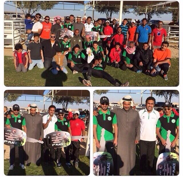 الفارس السعودي طاهر التركماني يخطف المركز الأول في سباق مملكة البحرين