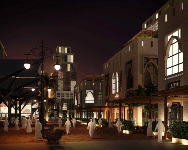 طريق الملك عبدالعزيز في مكة تصميم مستقبلي تخايلي