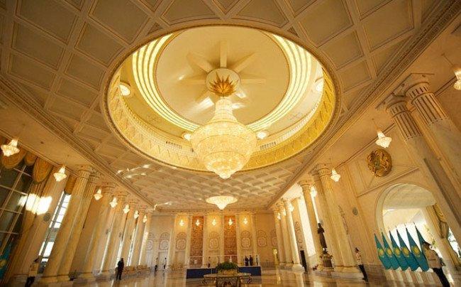 بيت رئيس كازخستان