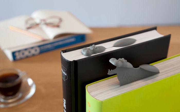 تعليم الصفحات أثناء قراءة الكتب