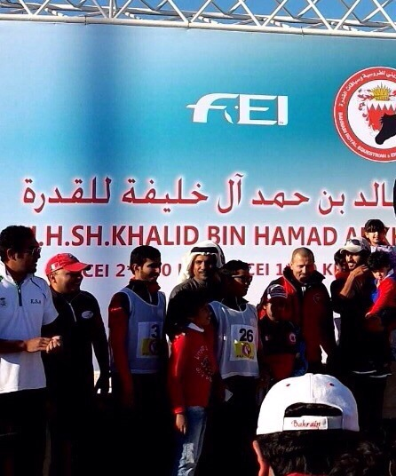 فارس سعودي يخطف المركز الأول في سباق مملكة البحرين