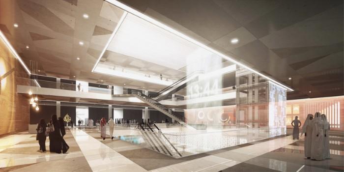 تصميم مستقبلي لمقر وسائل الاعلام الجديد في قطر