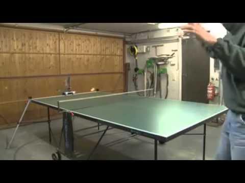 إبتكار مذهل في لعبة تنس الطاولة.. (فيديو)
