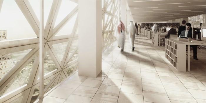 هندسة معمارية مستقبلية في قطر