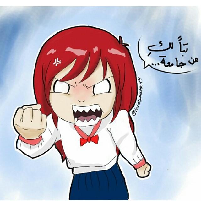 رسم ابداع سعودي من الفنانة ولاء