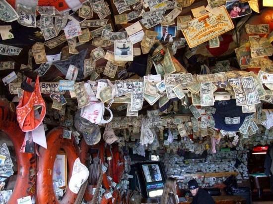 ديكورات الأوراق النقدية