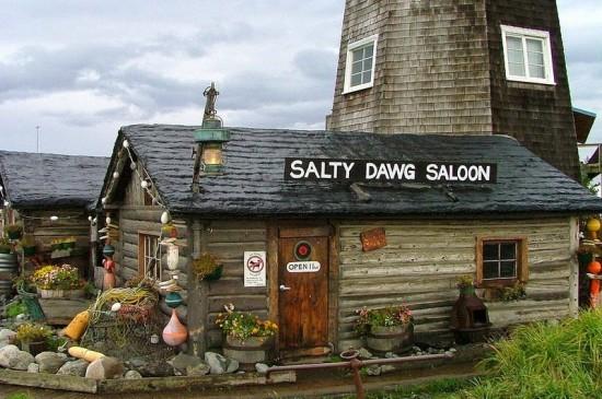 مقهى في ألاسكا