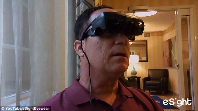 النظارات الإلكترونية