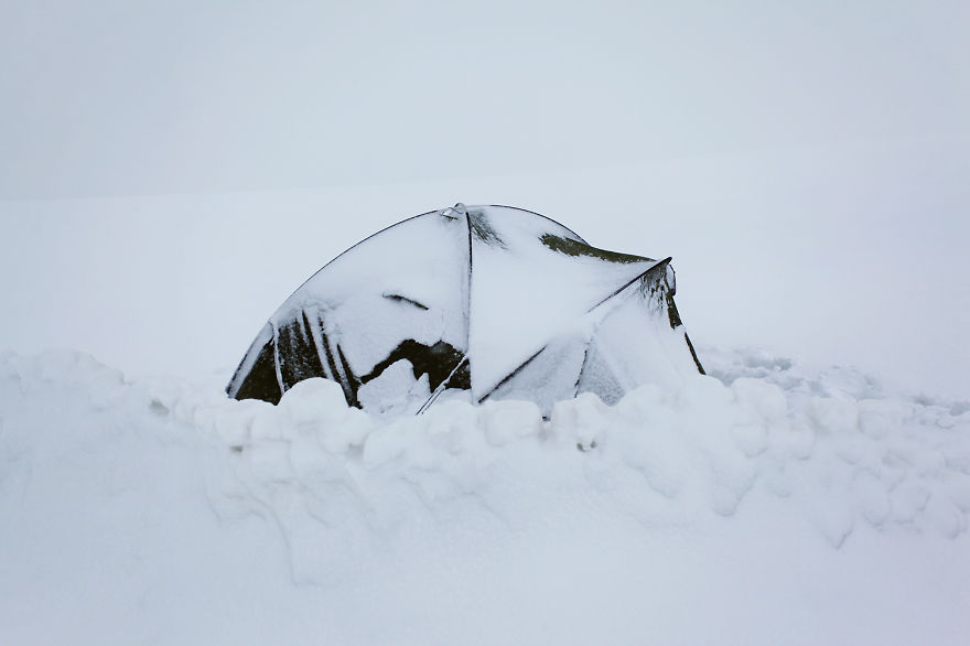 mountains-tent