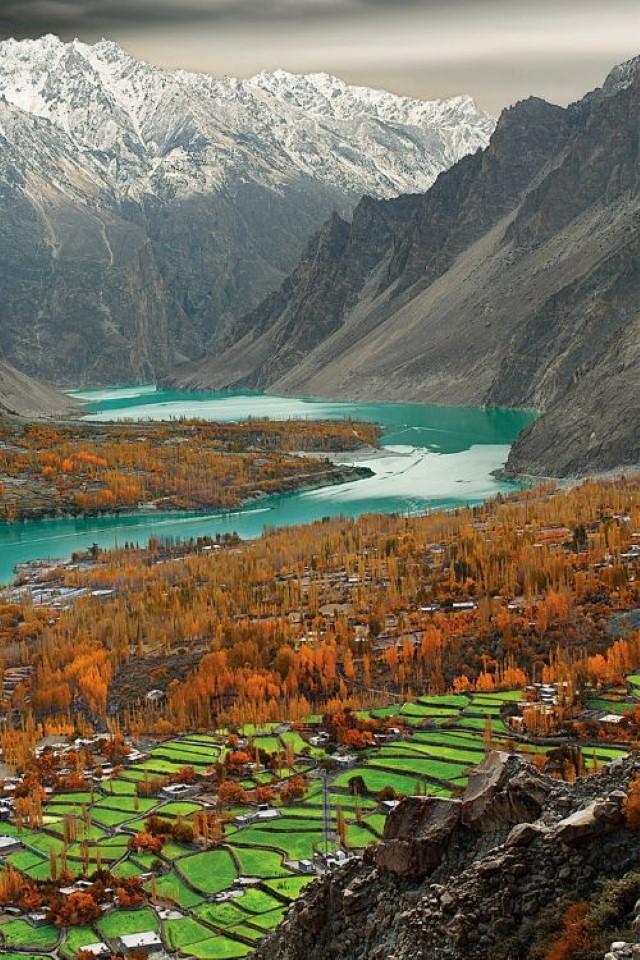 الطبيعة الباكستانية
