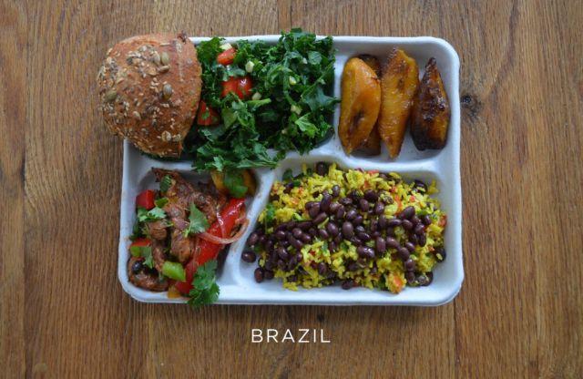 غداء الأطفال البرازيل
