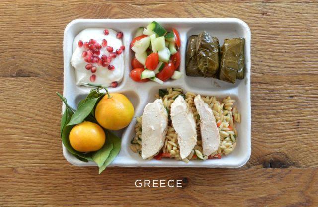 غداء الأطفال اليونان