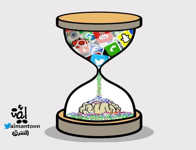 كاريكاتير - أيمن الغامدي (السعودية)  يوم الإثنين 23 فبراير 2015
