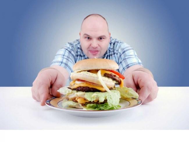 الإفراط في الطعام قبل النوم