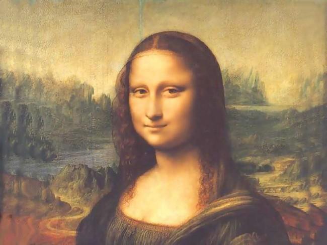 الموناليزا - أشهر التحف الفنية