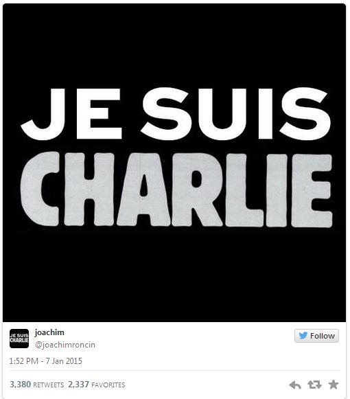 تغريدة أنا تشارلي