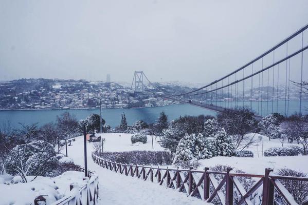 تركيا في الشتاء