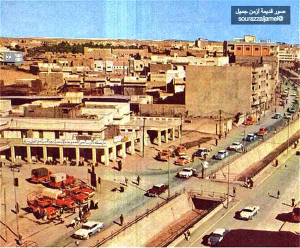 شارع البطحاء عان 1962