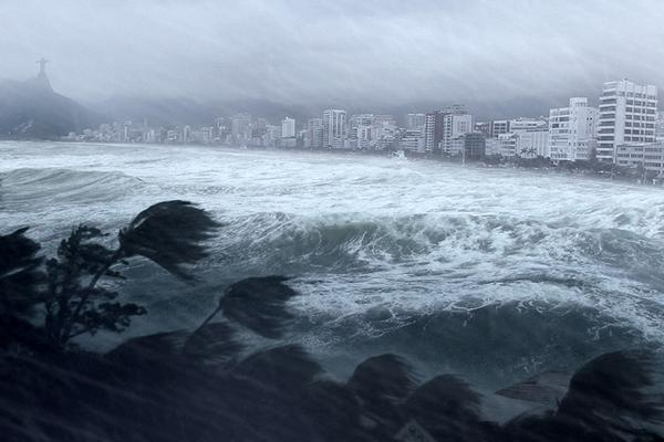 صورة وسط إعصار