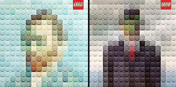 لوحات ليغو