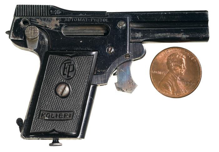 مسدس الطائر الطنان