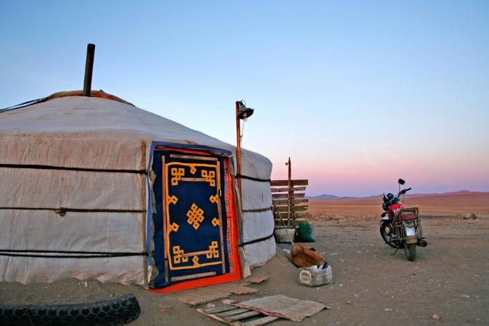 منزل منغولي