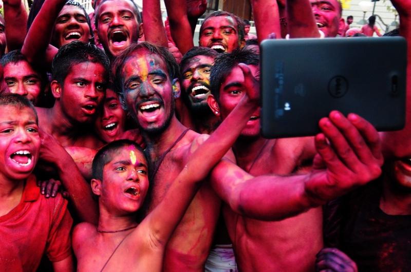 مهرجان هولي في الهند