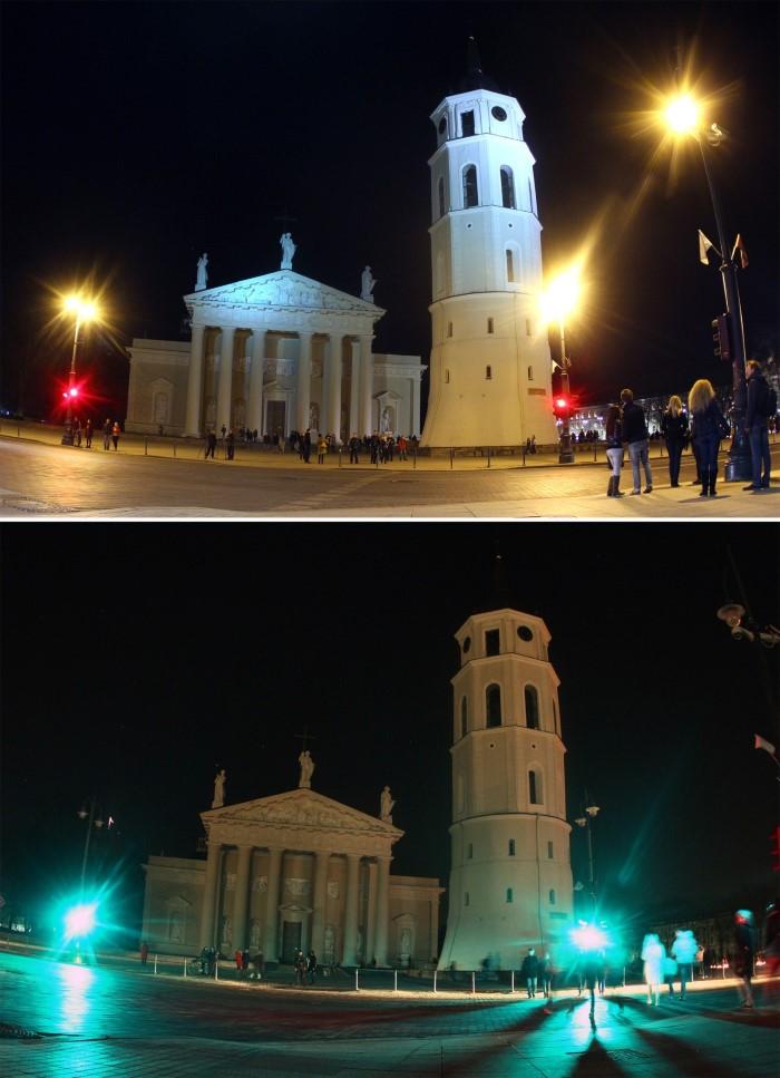 العام بظلام دامس في ليلة 28 مارس