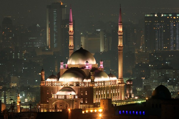 The Mohammed Ali mosque at the Salaheddi